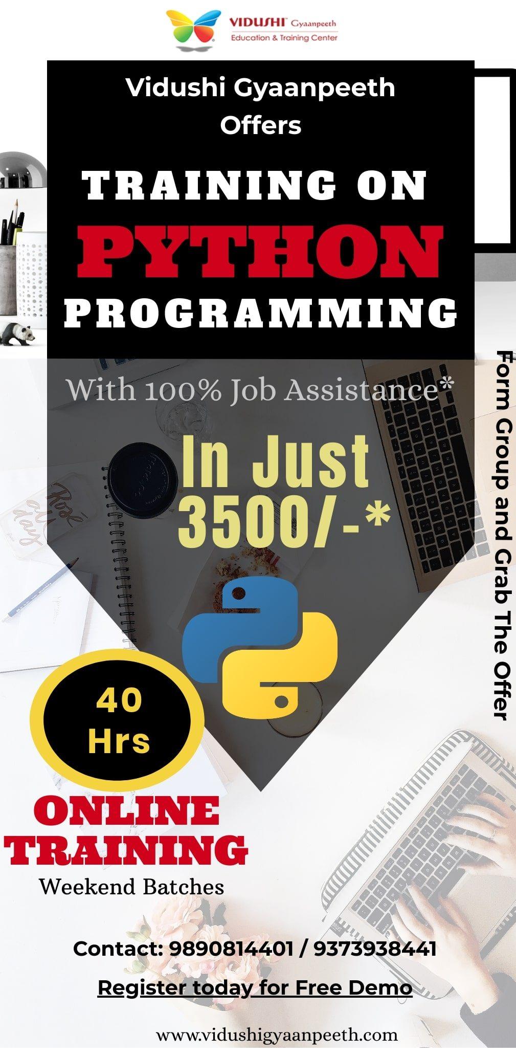 Register for Python Training